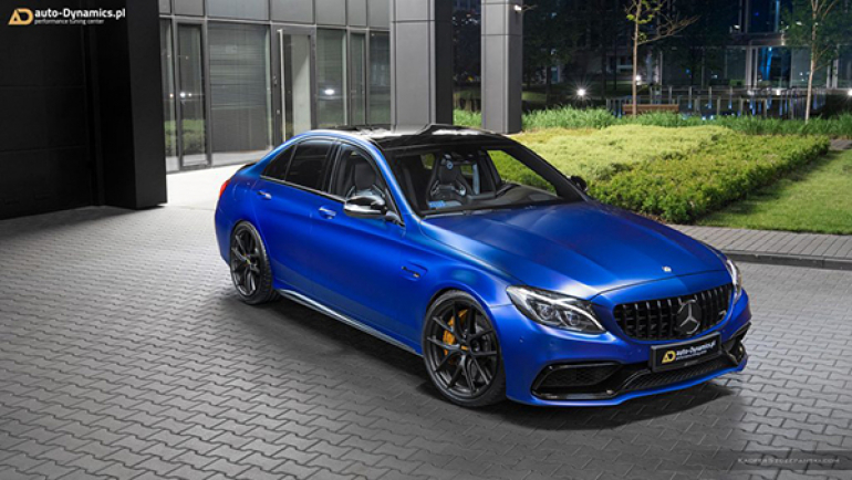 Mercedes-AMG C 63 S Charon Has More Than Meets The Eye