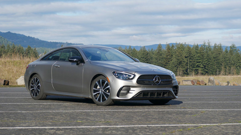 2021 Mercedes-Benz E 450 Coupe Review Test Drive