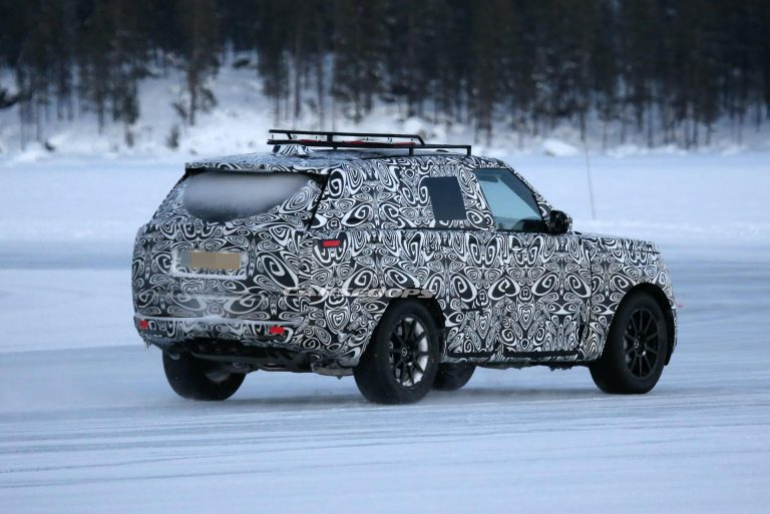 The new 2022 Range Rover from Land Rover factory