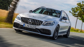 Driven: The 503-HP 2020 Mercedes-AMG C63 S Wagon You Can't Have