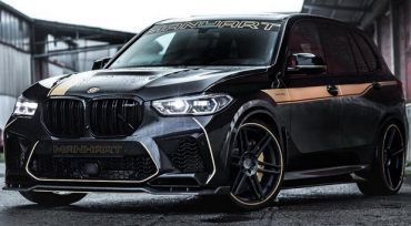 Manhart BMW X5 M with 823HP