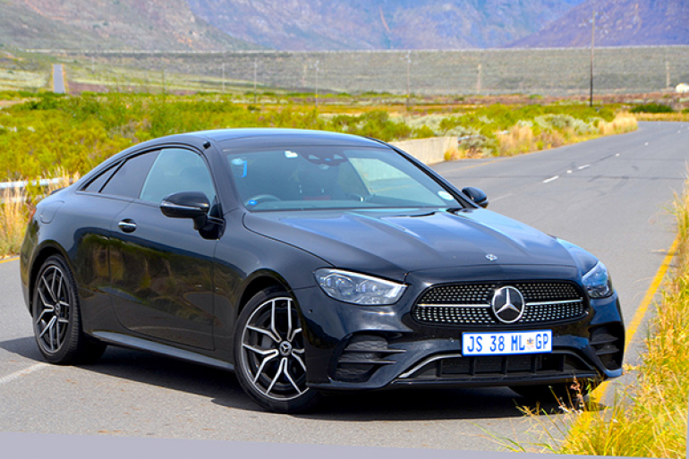 2021 Mercedes-Benz E 300 Coupe AMG Line Review