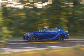 Tested: 2021 Lexus IS350 F Sport Deserves a Better Engine