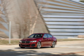 Tested: 2021 BMW M550i xDrive Gets Another Go at the Test Track