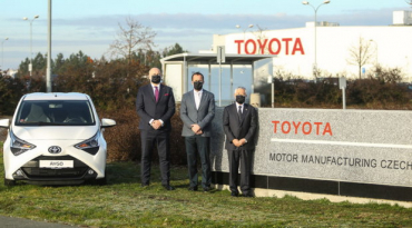 Toyota has taken over ownership of the Kolin plant in the Czech Republic