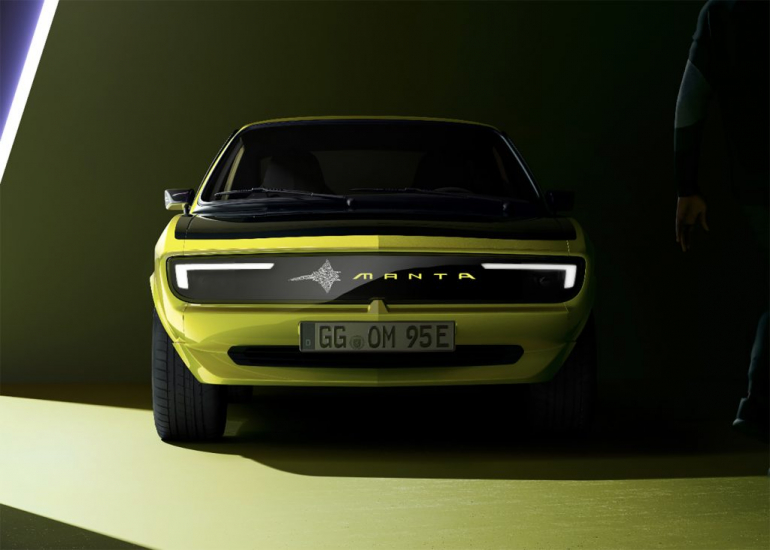 The new Opel Manta will have an unprecedented digital grille