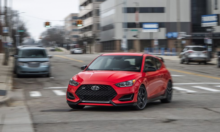 Tested: 2021 Hyundai Veloster N DCT Gets Quicker and Comfier