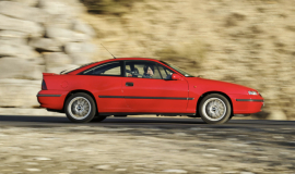 The most expensive Opel Calibra cost 300,000 German marks?
