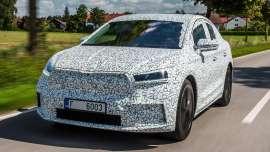 New Skoda Enyaq Coupe iV prototype review