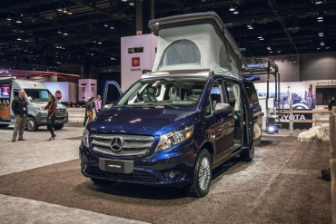 Mercedes Metris superior weekender camper come to US